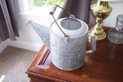 Vintage Galvenized Metal Watering Can