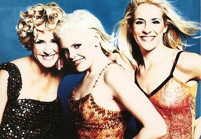 Female Music Group DIXIE CHICKS POSTCARD Wide Open Spaces Sexy Girls Photo 1998