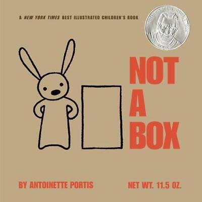 Not a Box by Antoinette Portis (English) Hardcover Book Free Shipping!