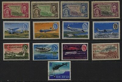 Rhodesia, Southern Rhodesia, MNH / Used Sets & Single