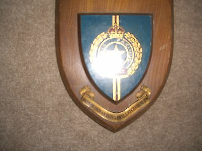 Indian Army  -Ieme-Wooden Shield -Very Rare -In Very  Good Condition