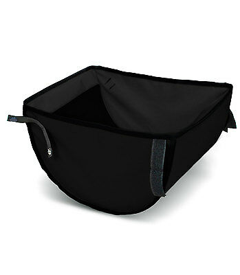 Out n About Nipper Single v3 Storage Basket Raven Black