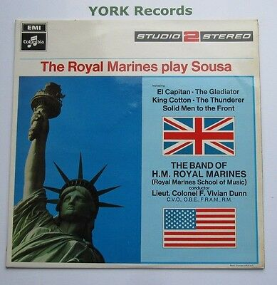 BAND OF HM ROYAL MARINES - Play Sousa - Excellent Con LP Record Columbia TWO 235