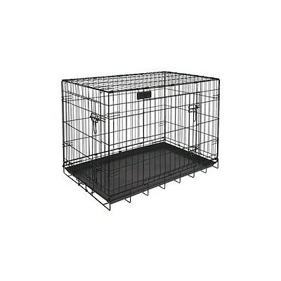 Rp780 Riga cage chiens gm modele pour moyens chiens. Cage pliable dimensions 91x