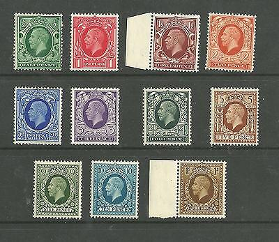 1934 SG439 - 449 Photogravure definitive set of 11  Superb unmounted Mint