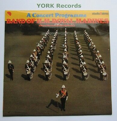 BAND OF HM ROYAL MARINES - A Concert Programme - Ex Con LP Record EMI TWOX 1075