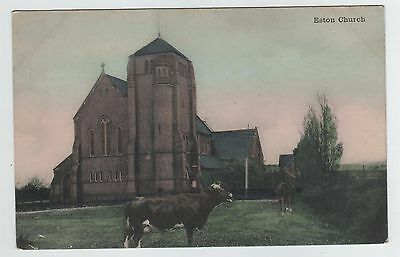 Eston Church , Middlesbrough, Teesside, North Yorkshire Printed Postcard