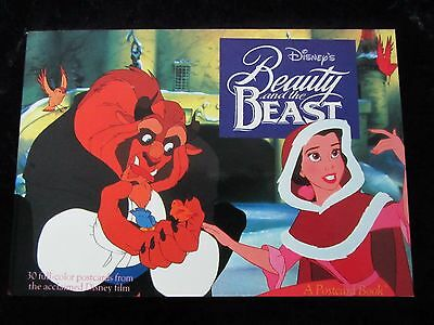 Disney's Beauty and the Beast Postcard Book - Running Press 30 Scenes - Like New