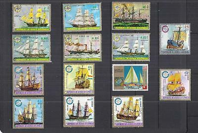 x9949 Thematics / Boats/ A Small Collection Early & Modern Lhm & Used