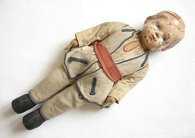 Antique Composition Doll With Original Clothing