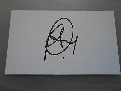 William Gallas Hand Signed Card & Coa Arsenal - Chelsea - Spurs