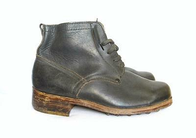 Ww2 Bulgarian Officer Combat Low Boots