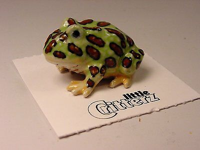 "Little Critterz - LC329 ""Pacman"" Tree Frog"
