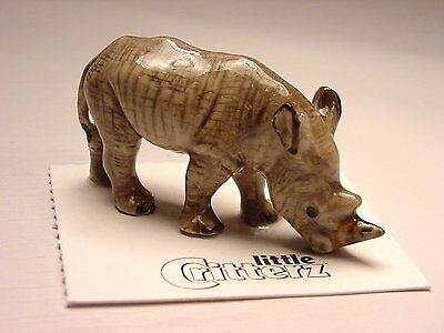 "Little Critterz - LC430 ""Zulu"" White Rhino"