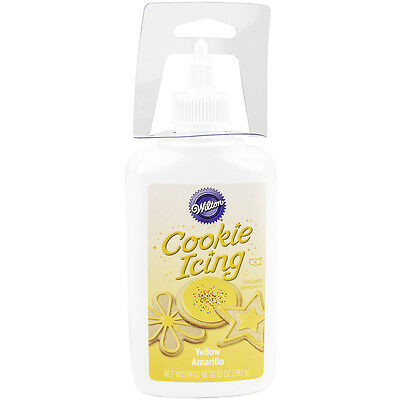 """Cookie Icing 10oz-Yellow, Set Of 3"""