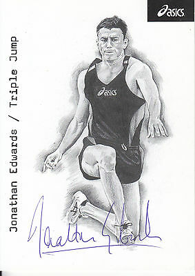 Jonathan Edwards Signed Picture