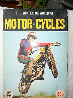 The Wonderful World Of Motor-Cycles. F.k.s. Cards Book 1974