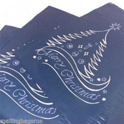 "10 Christmas Blue 12""x19"" Mailing Postage Mail Postal Bags"