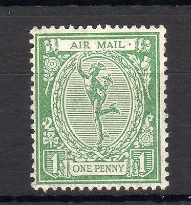 1923 Mercury Air Mail 'essay' Mounted Mint In Green