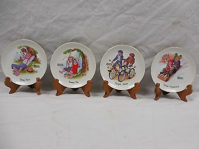 Lot Of 6 Norman Rockwell Collectors Plate's