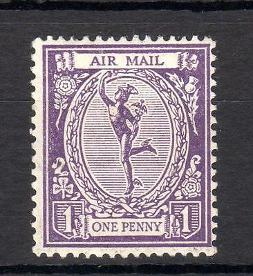 1923 Mercury Air Mail 'essay' Mounted Mint In Violet