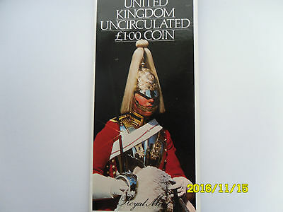 United Kingdom Uncirculated £1 Coin Gift Pack 1983