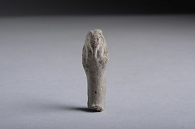 Ancient Egyptian Late Period Pottery Shabti - 664 BC