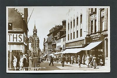 Dunfermline Fife - High Street showing Woolworth's RP c1960