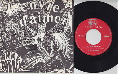 Anne DARDEN * 60's X-Rated French - Belgian EXOTICA PSYCH CHANSON 45 * Listen!