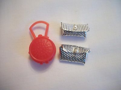 Palitoy Pippa Doll Accessories - Assorted Bags - 1970's