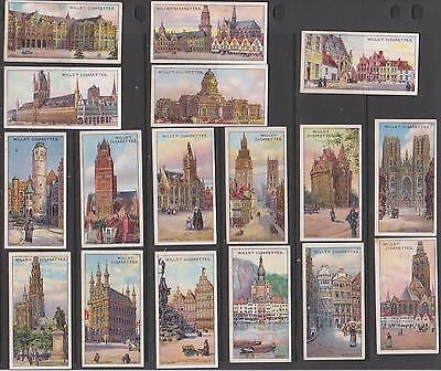 CIGARETTE CARDS Wills 1915 Gems of Belgian Architecture