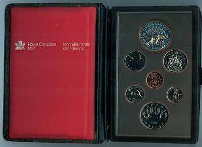 1980 Canada 7-Coin Proof-Like Set