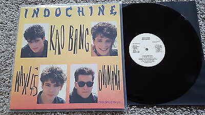 Indochine - Kao Bang 12'' Vinyl Maxi SPAIN PROMO