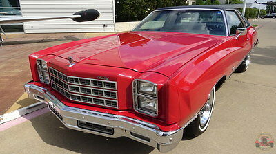 1977 Chevrolet Monte Carlo Two-Door Coupe  1977 Chevrolet Monte Carlo Coupe Classic Driver - Personal Luxury Car - VIDEO