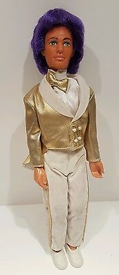 Vintage Glitter 'n Gold Rio doll Jem and the Holograms Hasbro 1987