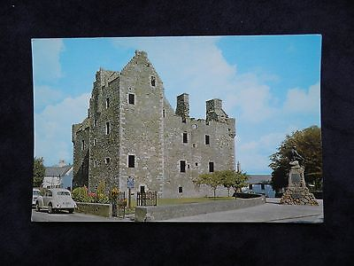Vintage Scottish Postcard Of Maclellan's Castle, Kirkcudbright
