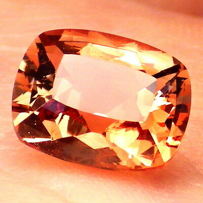 PADPARADSCHA OREGON SUNSTONE 2.71Ct FLAWLESS-FOR TOP JEWELRY/INVESTMENT GRADE!