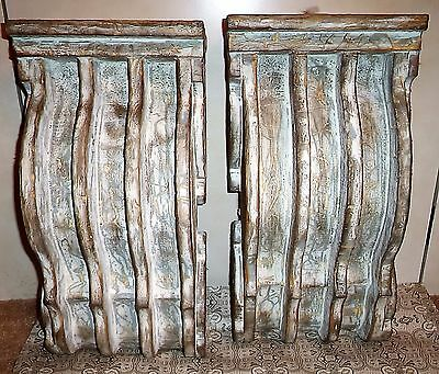 EX Large Decorative 1880's  Victorian Style  Parlor Corbels