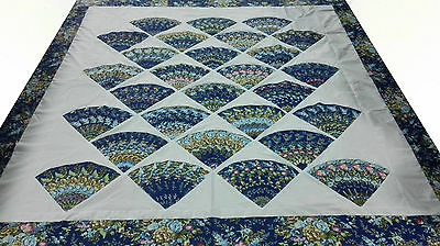 Queen size  machine pieced Patchwork quilt Top / #J-70