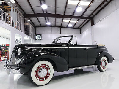 1939 Buick Other Special Sport Phaeton, AACA winner! Only 830 built 1939 Buick Special Sport Phaeton, Original 248CI 'Dynaflash' straight 8 engine