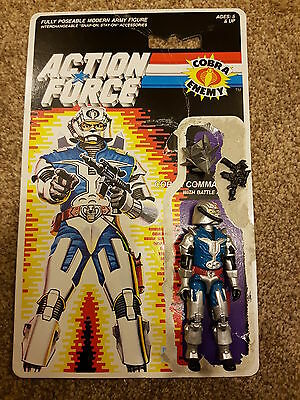 GIJOE/ Action Force Cobra Commander with Battle Armour - Great Condition