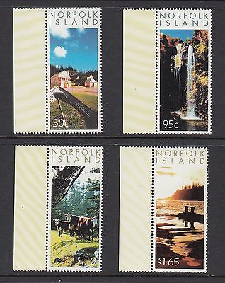 NORFOLK ISLAND 2004 PHOTOGRAPHIC SCENES, Set of 4, Mint Never Hinged