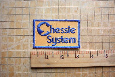Chessie System Vintage Embroidered Patch