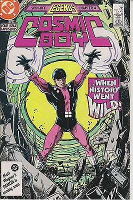Cosmic Boy  Complete 4 Issue Series - 1986/87