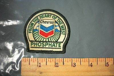 Chevron Rare Phosphate From The Heart Of The West Vintage Embroidered Patch