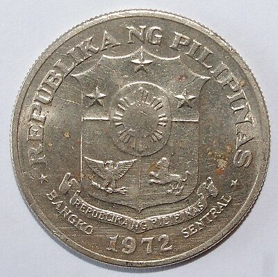 1972, 1 Piso Philippines Very Nice Coin