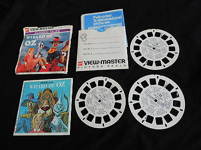 OLD GAF WIZARD OF OZ VIEWMASTER REEL SET free shipping