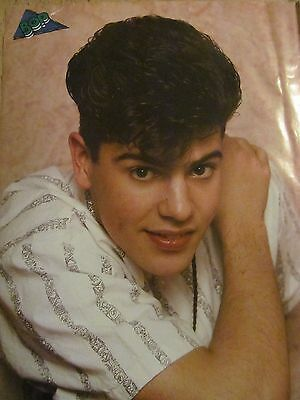 Jordan Knight, New Kids on the Block, Full Page Vintage Pinup