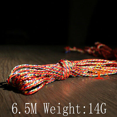 Tibet Tibetan Buddhist  Mikky Amulet  Pendant Colors String Cord  6Meter