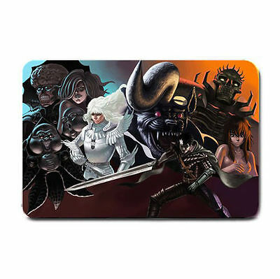 Anime Berserk wrinkle free Soft Topping surface table card play mat